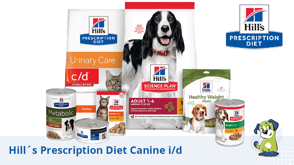 Trastornos gastrointestinales: Hill´s Prescription Diet Canine i/d